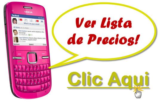 listado de ofertas de Nokia C3-00