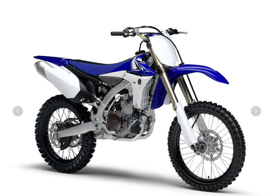 moto yamaha 450 f