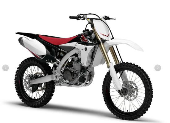 moto yamaha 450