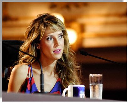 Colombia Tiene Talento 2012, Jurado Alejandra Azcarate