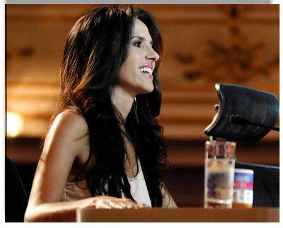 Colombia Tiene Talento 2012, jurado Paola Turbay Gomez