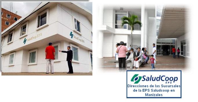 Direcciones EPS Saludcoop en Manizales