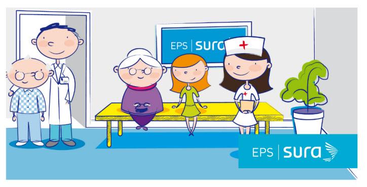 Direcciones de las Sucursales de la EPS SURA