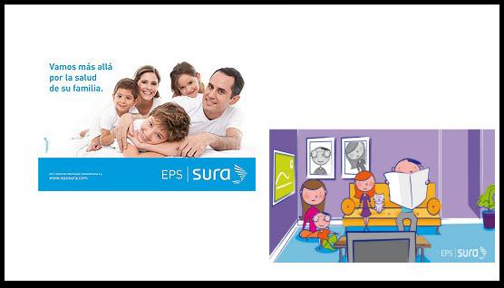 Direcciones de las Sucursales de la EPS SURA en Itagui