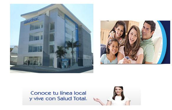Direcciones de las Sucursales de la EPS Salud Total en Medellin