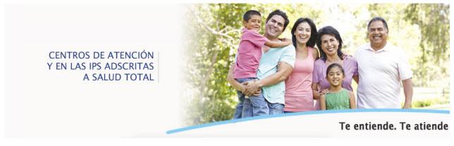 Direcciones de las Sucursales de la EPS Salud Total en Pereira