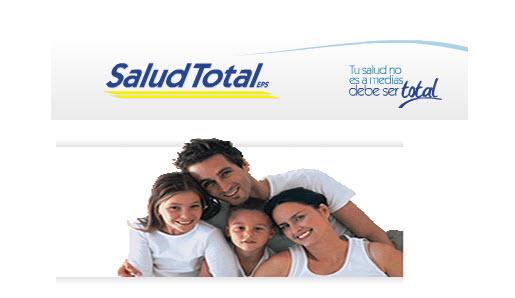 Direcciones y teléfono de la EPS Salud Total en Bogotá