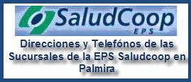 Direcciones y Telefónos de las Sucursales de la EPS Saludcoop en Palmira