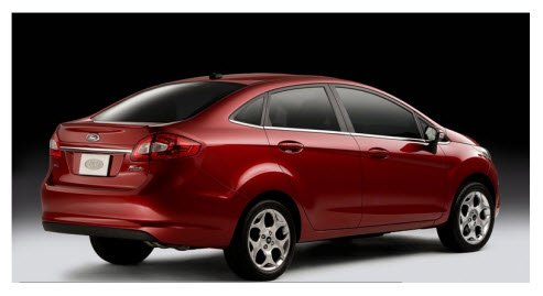 Ford Fiesta Sportback 2012