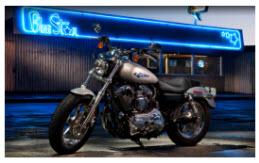 Nueva Harley Davidson 1200 Custom