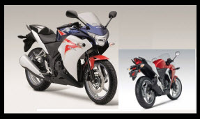 Honda CBR 25OR ABS 2012