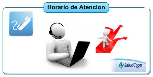Horarios de atención de la EPS Saludcoop Popayán