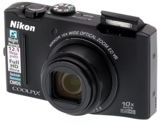 Nikon Coolpix S8100, Vista Diagonal