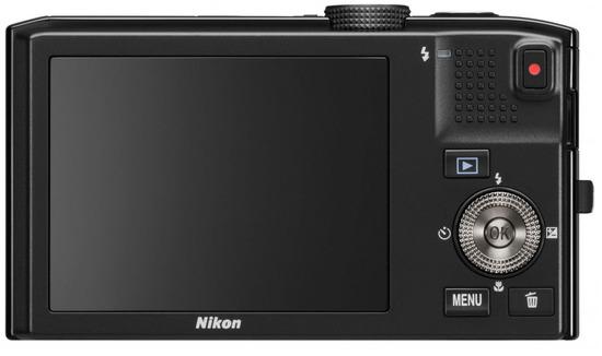 Nikon Coolpix S8100, Vista Trasera