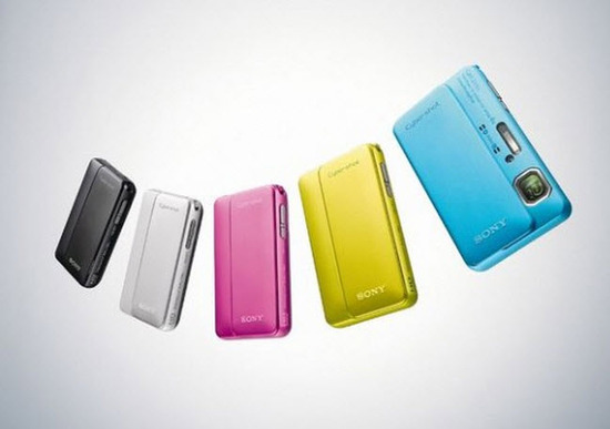 Sony DSC-T110, Colores