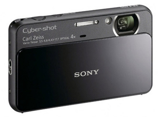 Sony DSC-T110, Vista Frontal