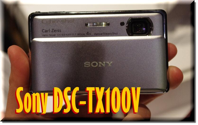 Sony DSC-TX100V