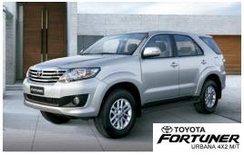 Nueva Toyota Fortuner Urbana 4×2 M/T