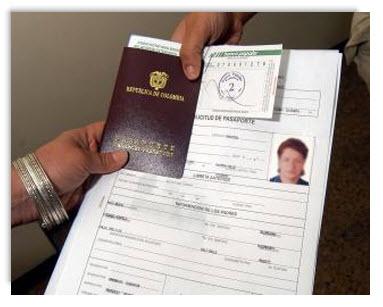 Tramites para el Pasaporte