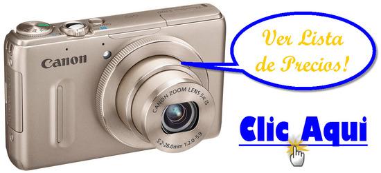 listado de ofertas de Canon PowerShot S100