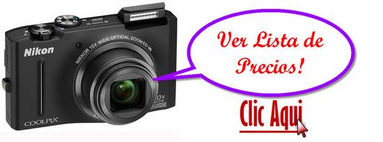 listado de ofertas de Nikon Coolpix S8100