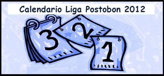 Calendario Liga Postobón 2012