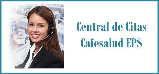 Central de citas  Cafesalud EPS