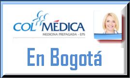 Direcciones y Teléfonos de las sucursales Colmédica EPS  en Bogotá.