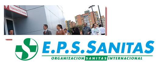 Direccion EPS Sanitas en Bogota