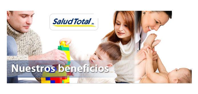 Direcciones EPS Salud Total en Rionegro Antioquia