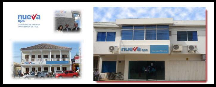 Direcciones Nueva EPS en Barranquilla