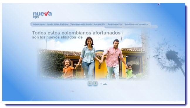 Direcciones de las Sucursales Nueva EPS en Medellin