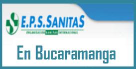 Direcciones y Teléfonos de las sucursales EPS Sanitas en Bucaramanga.