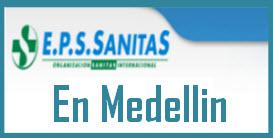 Direcciones y Teléfonos de las sucursales EPS Sanitas en Medellin.