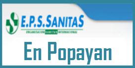 Direcciones y Teléfonos de las sucursales EPS Sanitas en Popayán.
