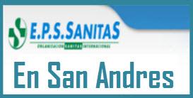 Direcciones y Teléfonos de las sucursales EPS Sanitas en San Andres.