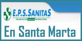 Direcciones y Teléfonos de las sucursales EPS Sanitas en Santa Marta.