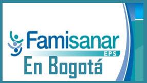 Direcciones y Teléfonos de las sucursales Famisanar EPS  en Bogotá.