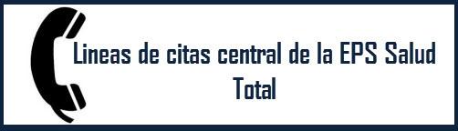 Lineas de citas EPS Salud Total Barranquilla Atlántico