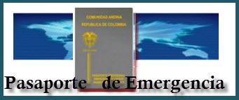 Pasaporte de Emergencia en Colombia.