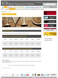 Pagina oficial  www.museonacional.gov.co