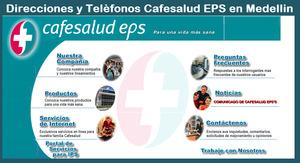 Sucursales Cafesalud en Medellin