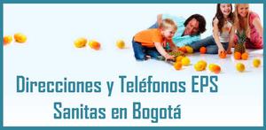 Sucursales EPS Sanitas en Bogota