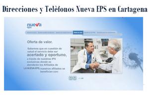 Sucursales Nueva EPS en Cartagena