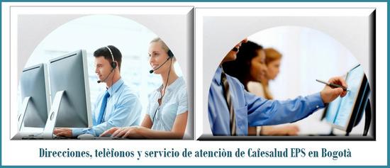 Teléfono Cafesalud EPS en Bogotá