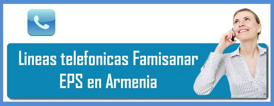 Teléfonos Famisanar EPS en Armenia