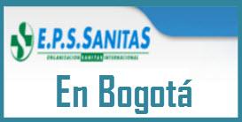 Direcciones y Teléfonos de las sucursales EPS Sanitas en Bogotá.