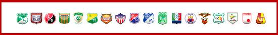 liga Postobón 2012 Equipos