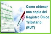 Descargar copia del RUT, Registro Único Tributario paso a paso
