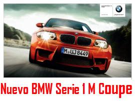 Nuevo BMW Serie 1 M Coupe